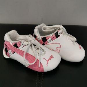 Puma runners for toddler girl